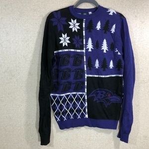 NFL Baltimore Ravens Ugly Christmas Sweater